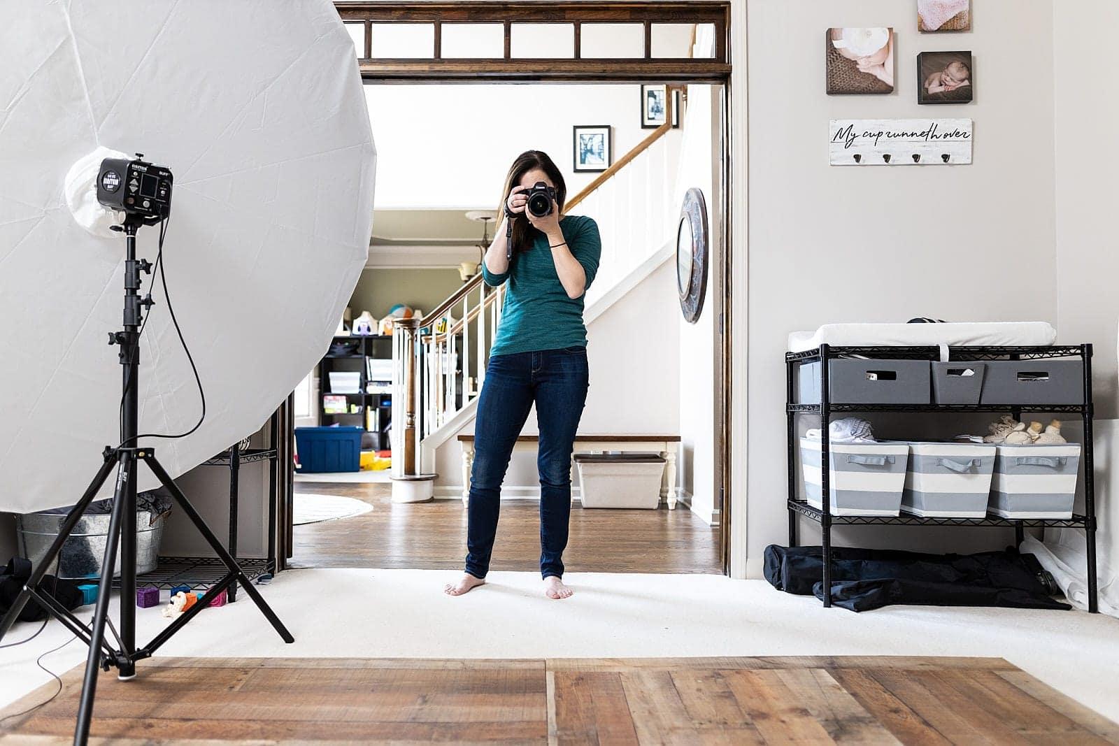 photographer shooting for print