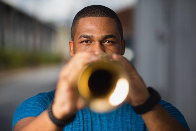 musical playing saxophone east atlanta