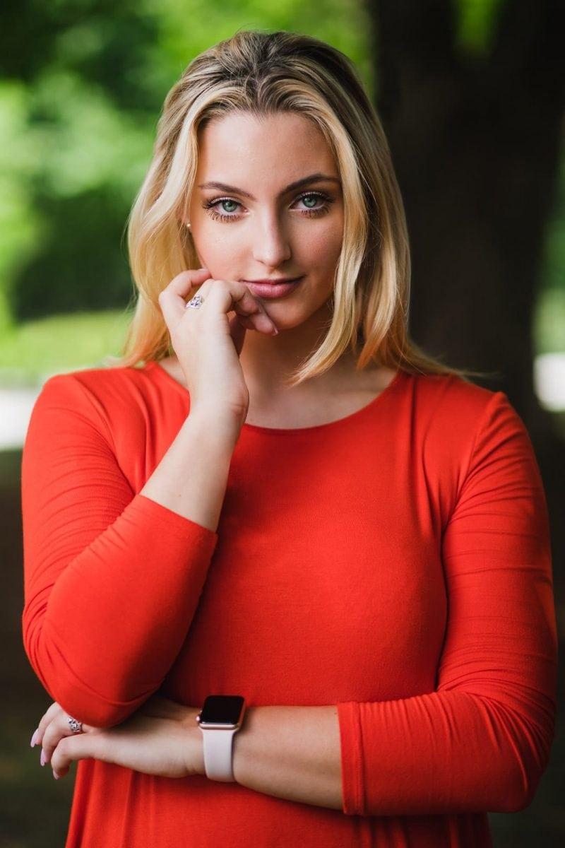 Atlanta high school senior actress headshot