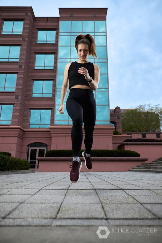 Editorial Trail Runner portrait