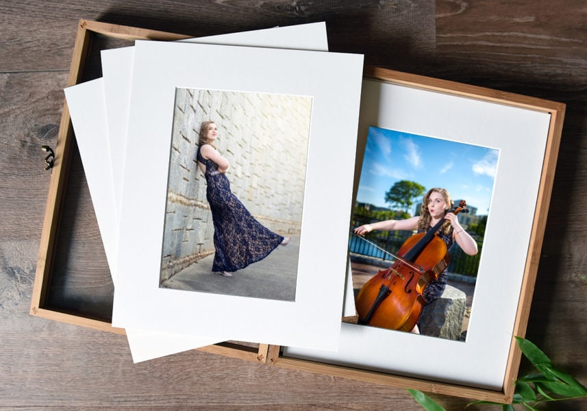 printed product portrait photography costs
