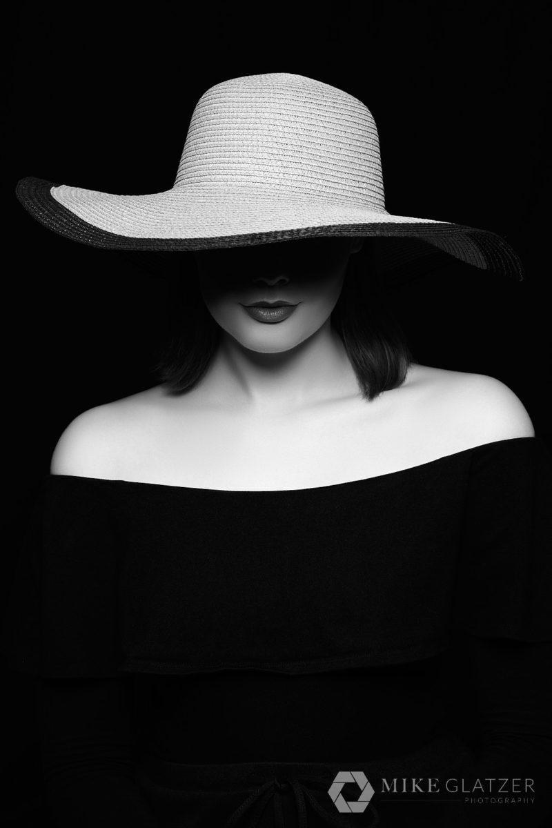 shadow portrait concept